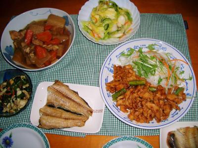 2007-2-27夕飯