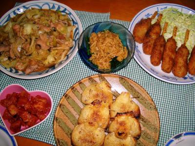 2007-3-14夕飯