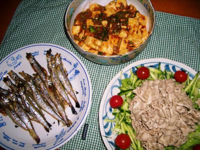 2007-3-30夕飯