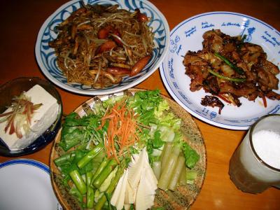 2007-3-31夕飯