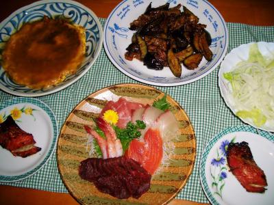 2007-4-6夕飯