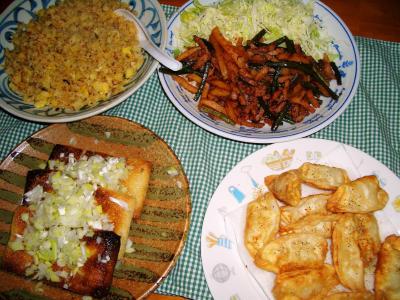 2007-4-11夕飯