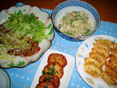 2007-4-15夕飯