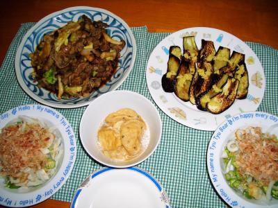 2007-4-16夕飯