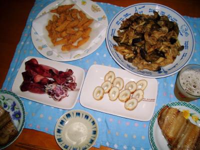 2007-4-19夕飯