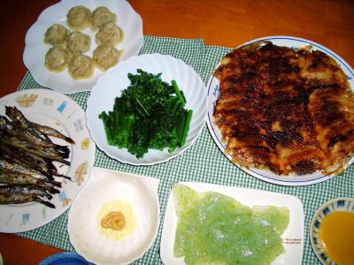 2007-4-21夕飯