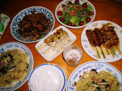 2007-4-22夕飯