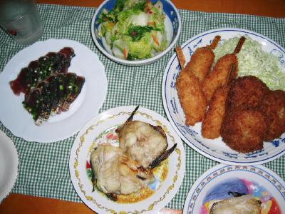 2007-9-5夕飯