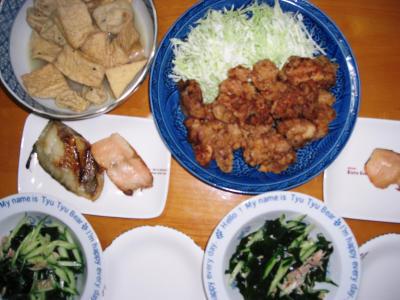 2007-9-7-夕飯