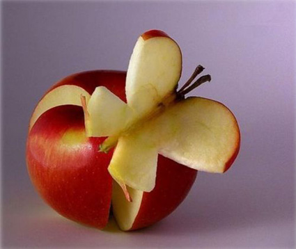 野菜アートリンゴ