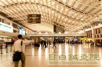2011九寨溝の旅1成都空港