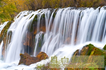 2011年10月九寨溝の紅葉と渓流4