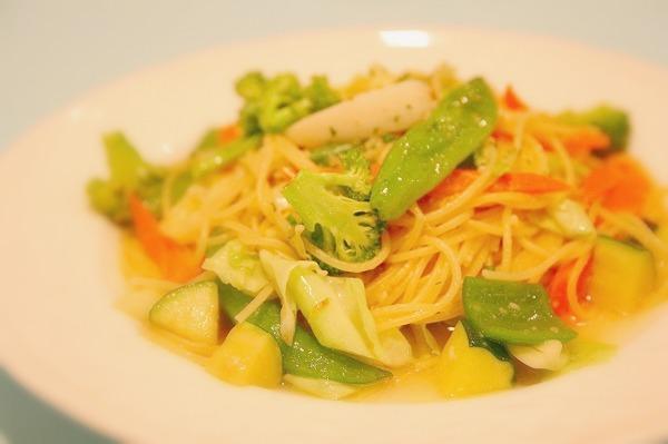 野菜のビアンコ 塩味オイルソース