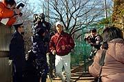 〔写真:応武監督から『恋愛OK』のお墨付きが出た斎藤。キミならすぐに彼女ができる!?〕