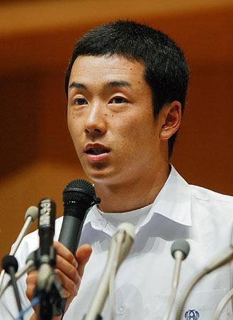 斎藤が「進学」を表明