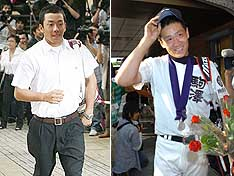 人気低迷の巨人を救うことができそうな早実・斎藤(左)と駒大苫小牧・田中(右)だが、獲得となると…