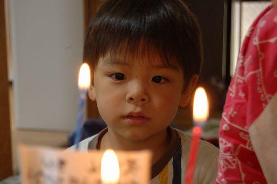 3歳の誕生日 1