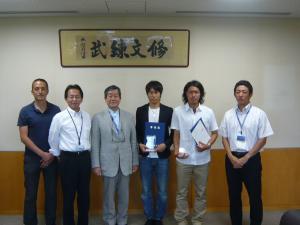 藤川選手 卒業式