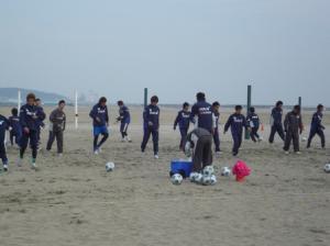 1月21日大洗海岸