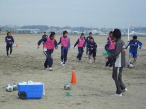 1月21日大洗海岸2