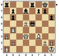 Mikenas vs Bronstein, 1965.