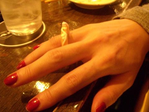 クッキーの指輪