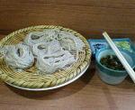 権堂老舗「戸隠」のざる蕎麦