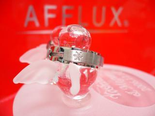 結婚指輪(結晶の拡大)