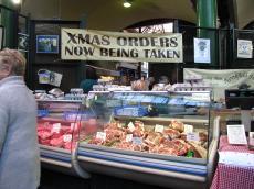 バラマーケット肉屋