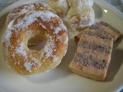 手作り ドーナツ&ゆうかちゃんのクッキー