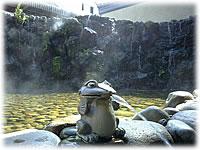 城崎温泉駅前の足湯