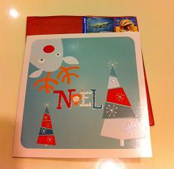 クリスマスカードY2