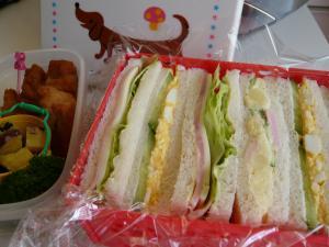 お弁当☆サンドイッチ