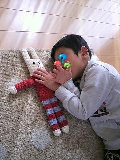 寝かしつけ^^
