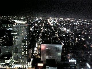 北側の夜景