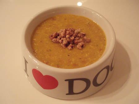 とうもろこし南瓜スープ