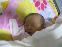 姪の赤ちゃん1