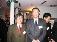 松本勇長崎大学名誉教授と。