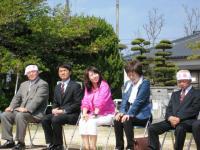 09.4.12 友近参議院議員と岡平知子さん