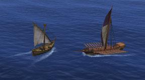 海賊船の襲撃