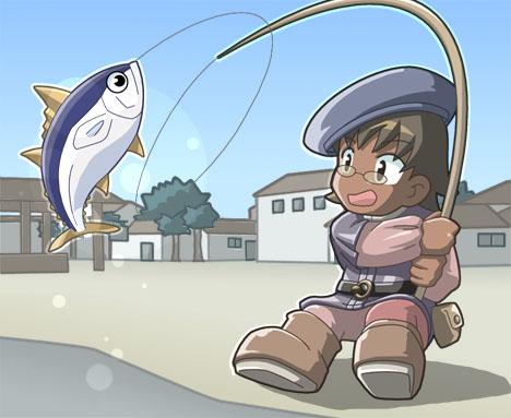 釣り師ふくしん