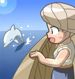 航海中の1コマ