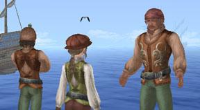 漁師への聞き込み