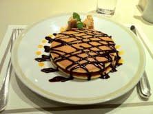 帝国ホテルのパンケーキ