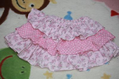 ひまちゃんのピンクのフリフリ
