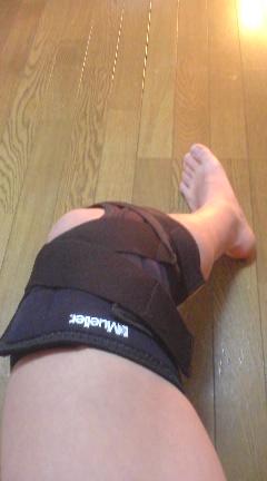 これでスキーの出来る膝の完了!