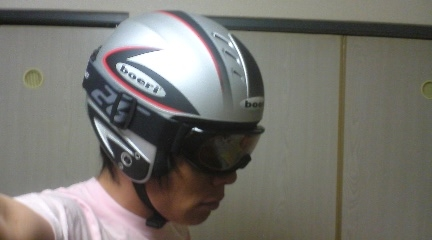 黒ゴーグルバージョンヘルメット