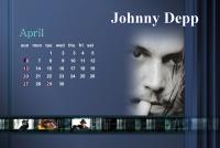 ジョニーカレンダー4月