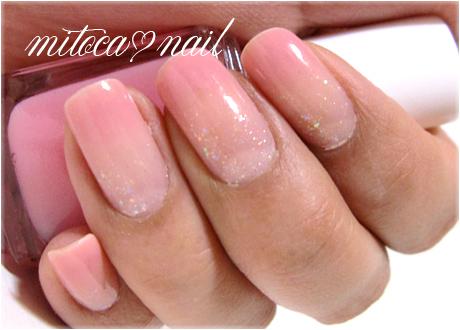 桜色シロップネイル01
