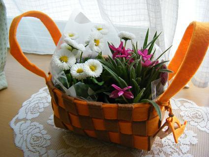 お花見への道。10